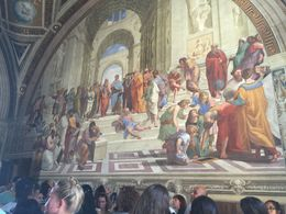 The School of Athens in the Raphael's room at the Vatican , ljallen91 - July 2016