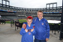 At the Mets, photo taken by one the official photographers. , STEPHEN G - August 2013