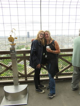 What a sight to behold. Fabulous tour guide led us up the Eiffel Tower and shared endless trivia facts. We loved it! , Joyce B - September 2015