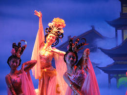 Performers at the Tang Dynasty Show in Xi'an., Bandit - May 2012