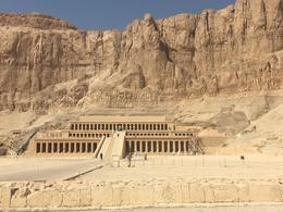 Temple of Queen Hatshepsut , Elyse R - October 2016