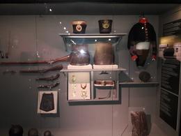 Artifacts in museum found around battlefield area , Timothy W - August 2017