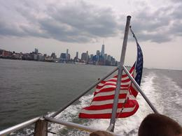 Ferry Boat Ride, NYC Skyline , Julie M - September 2017