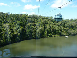 Flying over the rainforest. , Linda B - August 2012