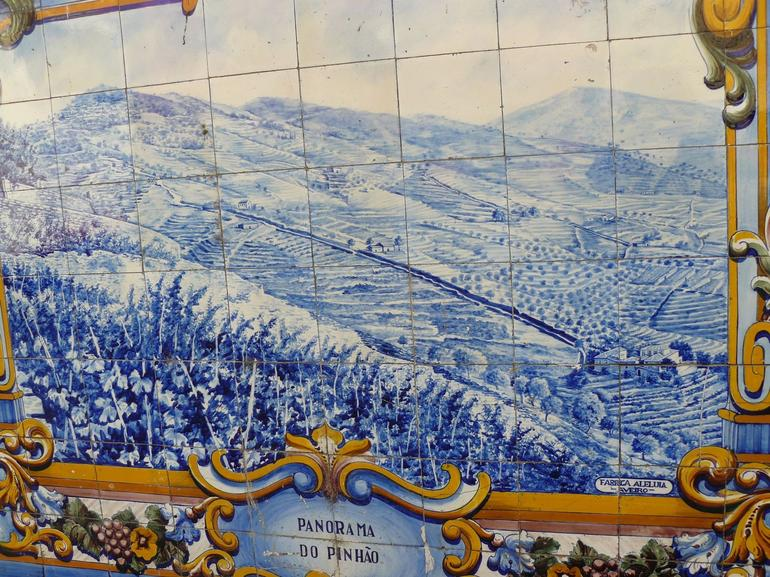 Azulejos all over Portugal - Porto