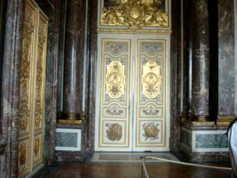 Doors in the Chateau de Versailles - Paris