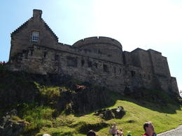 Sightseeing in Edinburgh, before we went and toured the Castle. , James B - June 2014