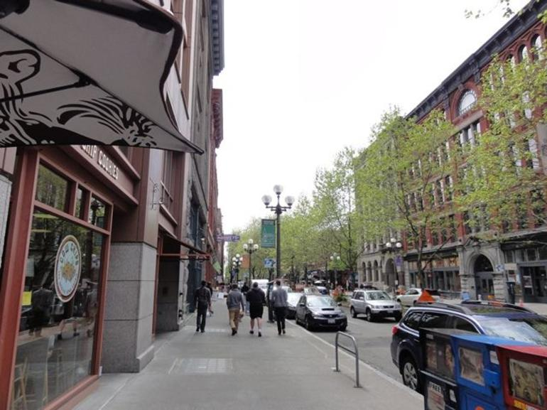 First Ave South in Pioneer Square - Seattle