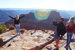 Grand Canyon West Rim Day Tour from Las Vegas, Viator Insider - January 2018