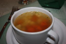 Chicken soup. , Stephanie R - March 2011