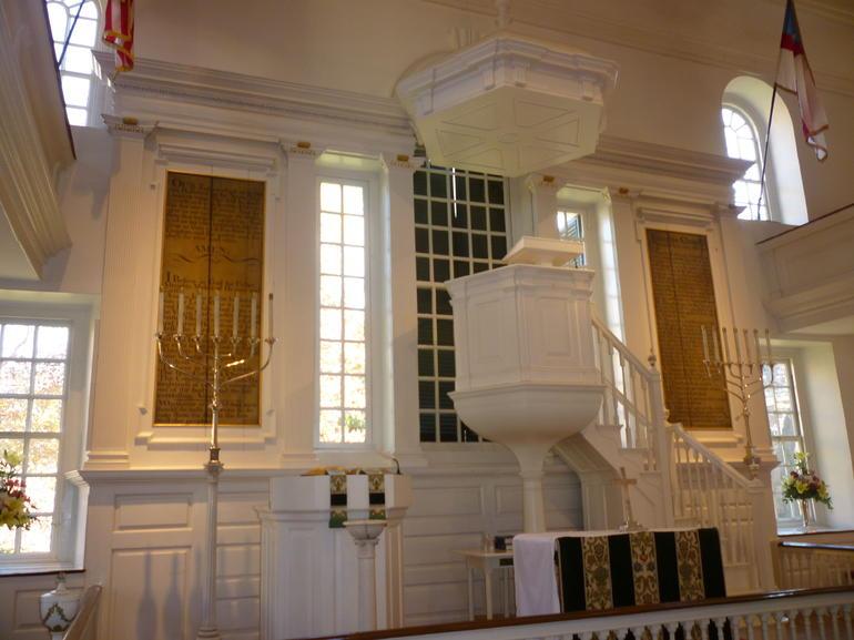 Inside Christ Church - Washington DC
