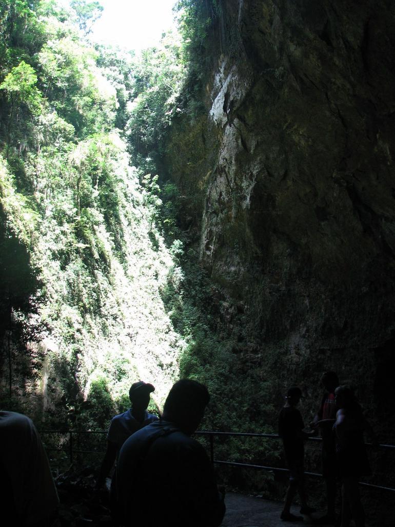 Inside the cave - San Juan
