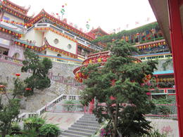 Exploring Kek Lok Si Temple. We managed to avoid other touring groups which meant the temple was quiet and peaceful with stunning views. , Anthony R - March 2012