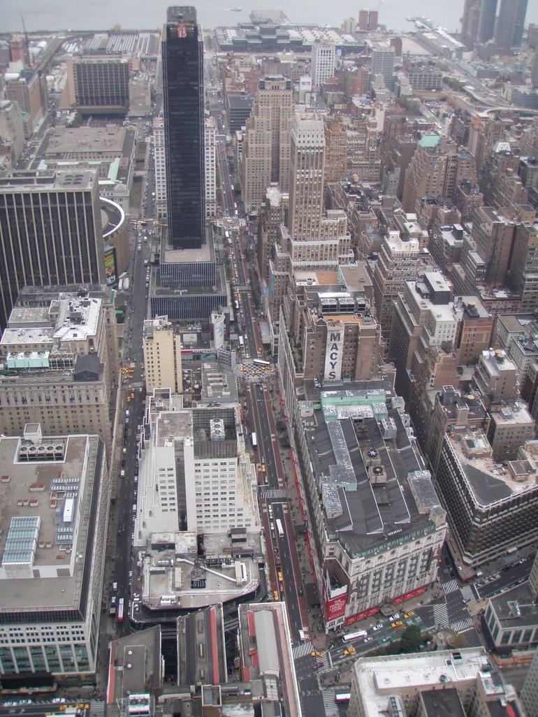 Looking Downtown from the Empire State Building - New York City