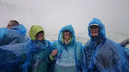 Parents and my Wife on the Maid of the Mist, , Gary h - August 2015