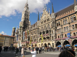 The Marienplatz (town hall) in Munich, Germany. , David O - January 2011