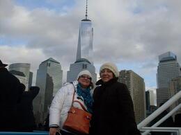 Las hermanas Cabrera Imken de Young, Uruguay, visitando Nueva York en Noviembre/13. , ADRIANA C - December 2013