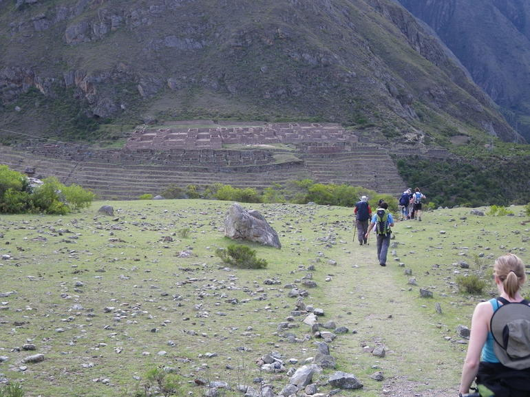 Our first ruins - Cusco