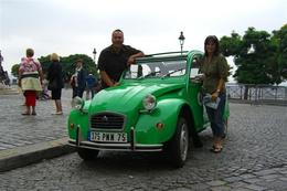 Nick and Nicky and the famous green 2CV., Nick C - October 2007