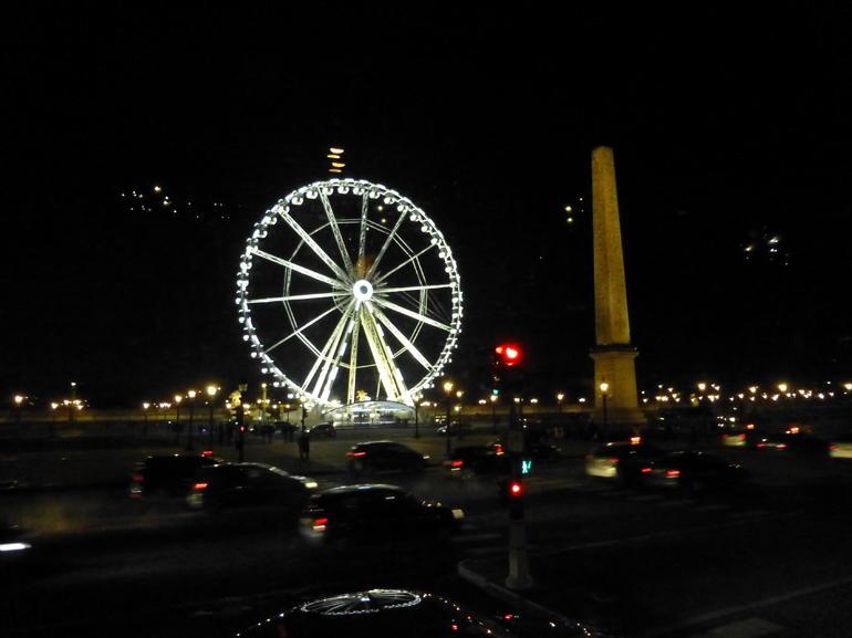 Paris im n�chtlichen Lichterglanz - Paris