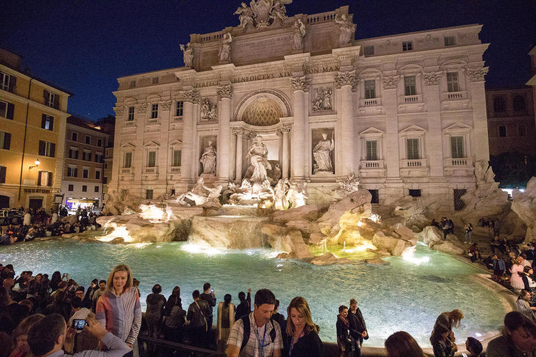 Rome by Night Tour Including Dinner photo 24