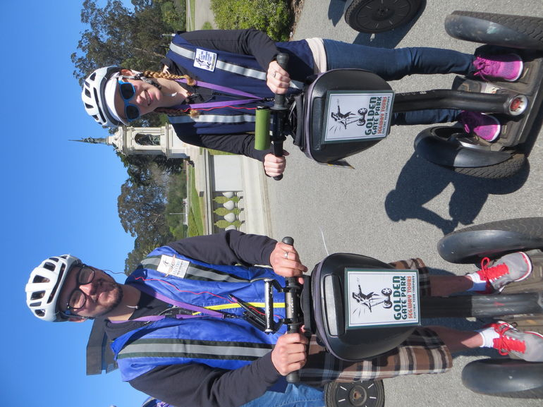 Golden Gate Park Segway Tour - Easy to learn then 2.5 hours of gliding fun