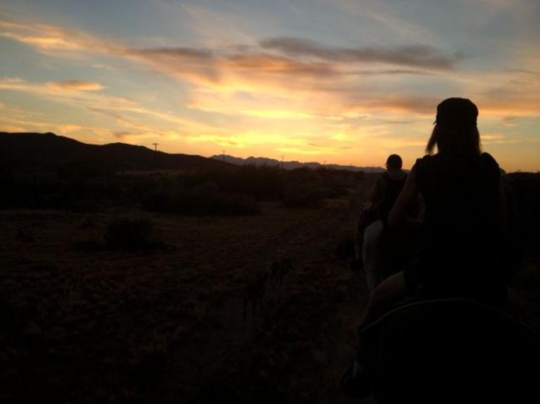 Setting sun - Las Vegas