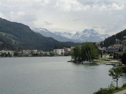 Views from St. Moritz, spectacular!! , Judy & Mike - July 2012