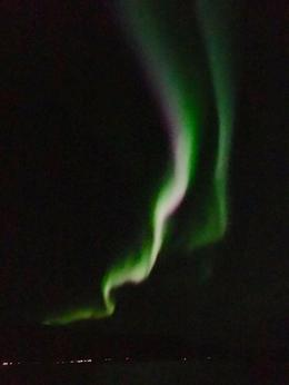 Perfect viewing night aboard the Cruise from Reykjavik. , Ali - October 2016
