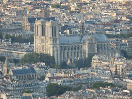 view from Eiffel Tower substitute of Notre Dame , Michael L - June 2012
