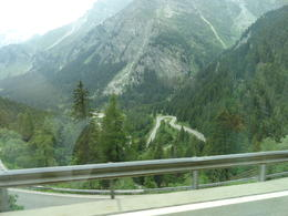 WOW!! What a journey down the Alps. Normally I don't like heights. Being up high in bus and looking down was breath taking. It was worth every second! No worries, they go slow and our driver..., Judy & Mike - July 2012