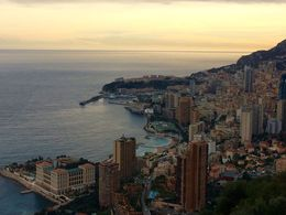 Gorgeous photo op of the fist views of Monaco. , Karen T - February 2016