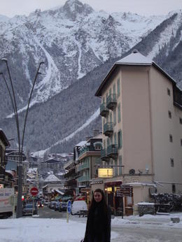 A beautiful town nestled amongst the Alps , Kirsty C - January 2011