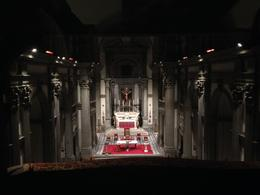 churc view from Vasari Corridor walking tour , Cristina B - December 2013