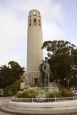 Coit Tower, North Beach, San Francisco - April 2011