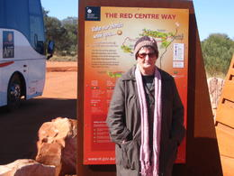 The stop were we changes buses on the way to alice springs , Sandra R - June 2011