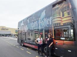 O ônibus da excursão adesivado com o tema do filme é muito legal! , ANA C - July 2014