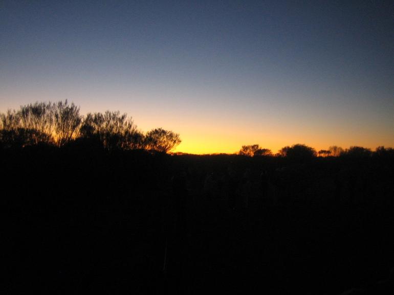 Sunrise Out Back - Ayers Rock