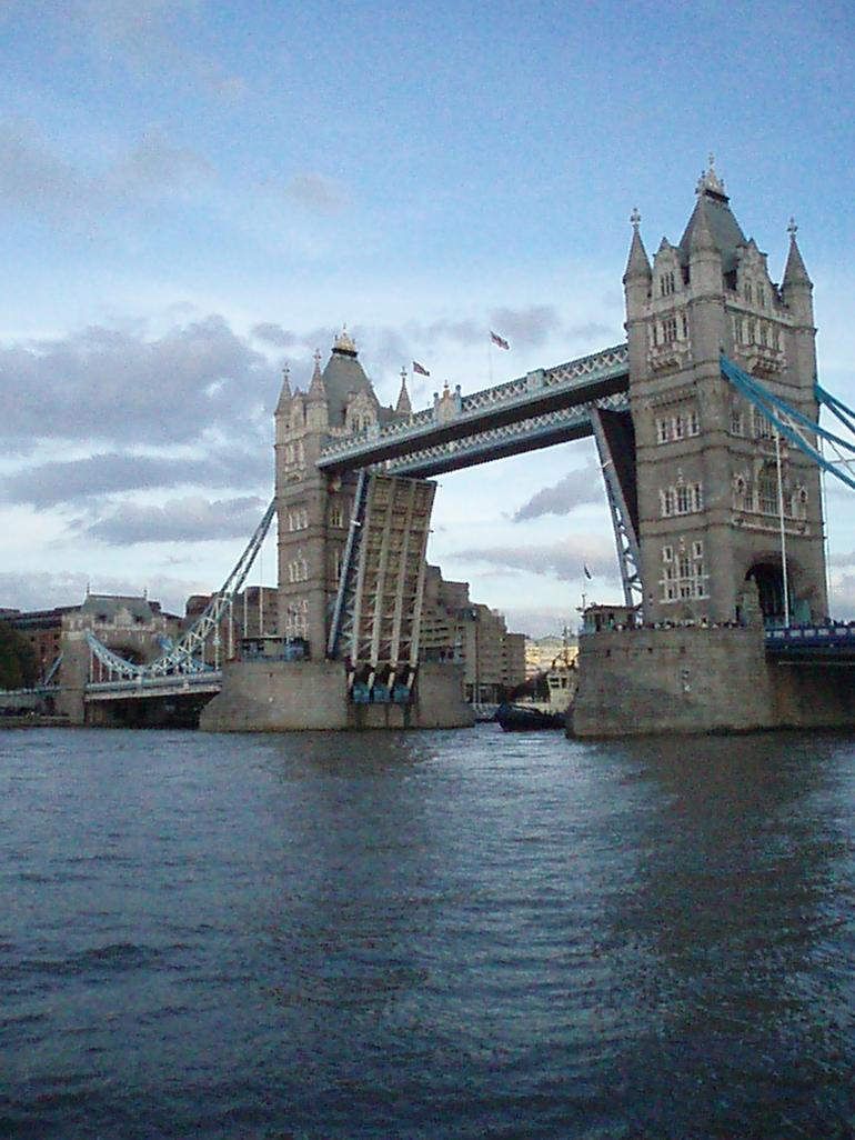 Tower Bridge Fully Open - London