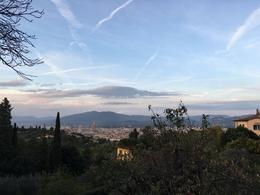 The view of Florence from the estate. , Julie T - October 2016