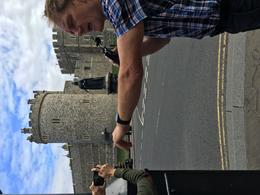 Our guide, Hugh, in front of the castle , marcirus1 - June 2017