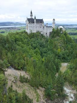 Schloss Neuschwanstein from the Marienbrucke , Carrie - August 2017
