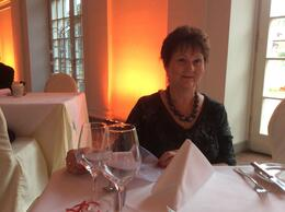 Cheryl at the Palace dinner so romantic , duckercheryl - October 2014