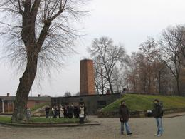 The Viator tour to Auschwitz Museum includes a walk through the famed Gas Chamber and its adjoining Creamatorium. No photos are allowed in both these areas, as a respect of what had taken place there... - December 2009
