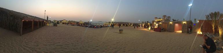 Dubai Desert Safari with BBQ Dinner, Sand Boarding, Camel Ride & 3 Live Shows