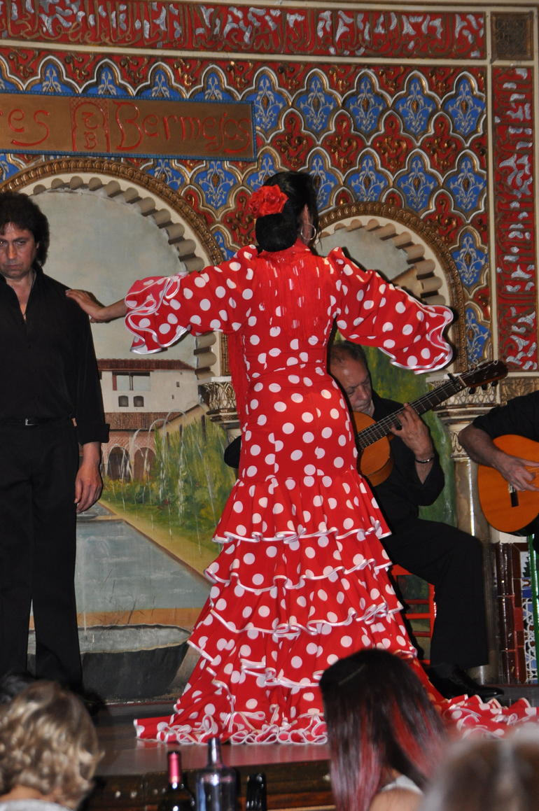 bermejas flamenco dancer - Madrid