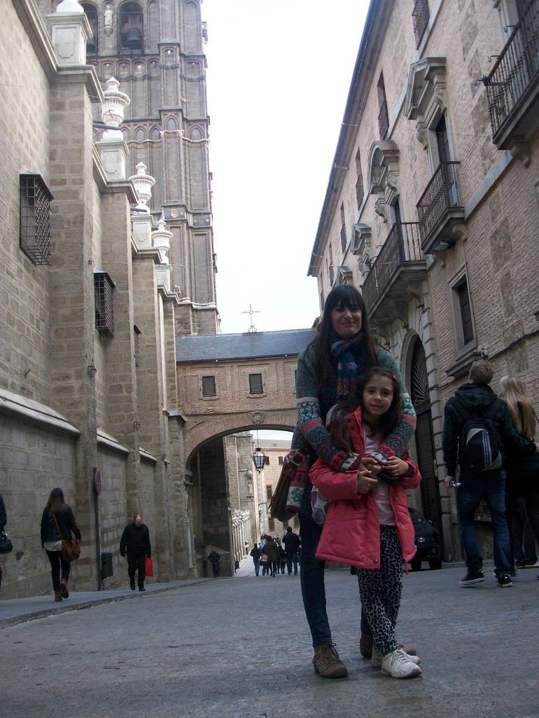 con mi hija PAULINA - Madrid