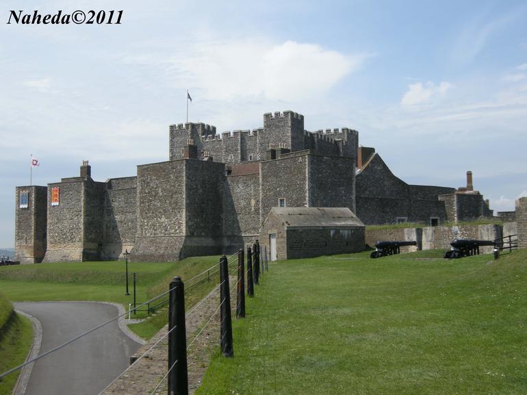 Dover castle - London