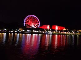 View of the Wheel of Brisbane from the Kookaburra River Queen. , Mandy S - June 2012