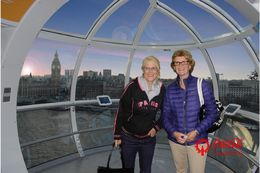 We enjoyed the sights of London from high above. This is a 'must-do' for all first time visitors to London. , Debora M - July 2016